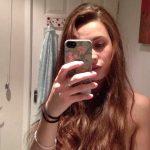 Beautiful young cute nude teen girl selfie exposed gallery