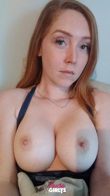 Soft naked bigtits redhead out top photo
